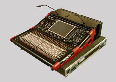SD9 mixer desk case